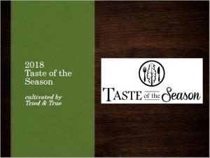 2018 Taste of the Season Photo Catalogue