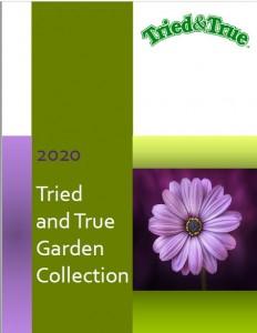 2020 Tried & True Garden Collection Catalogue cover