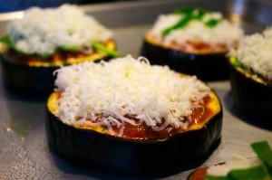 Eggplant Pizza Pre-Oven