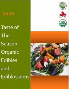 2020 TotS Edibles and Ediblossom Catalogue cover